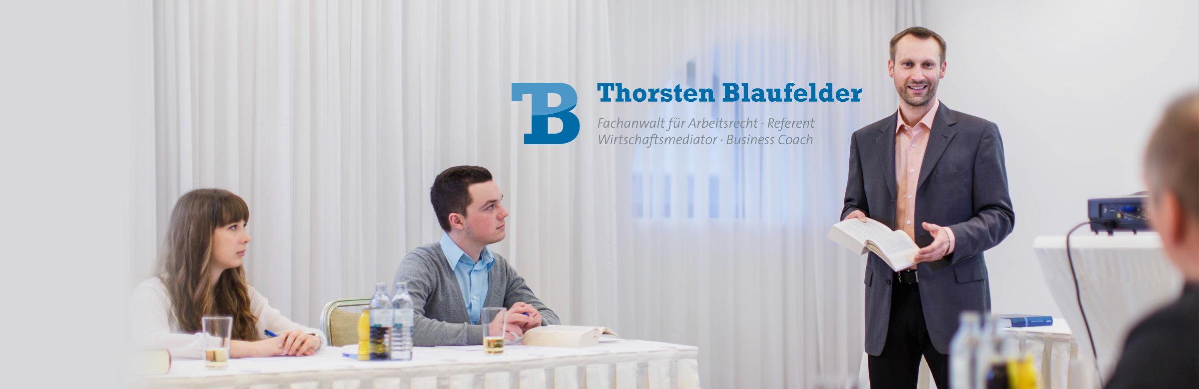 Thorsten Blaufelder - Seminare