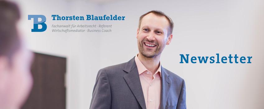 Monatlicher Newsletter von Thorsten Blaufelder