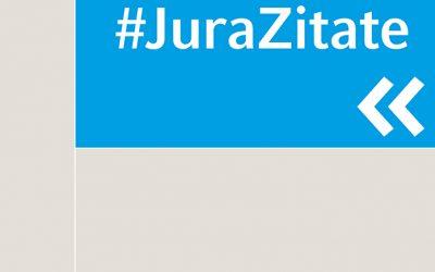 #JuraZitate – das neue Werk von Prof. Dr. jur. Arnd Diringer