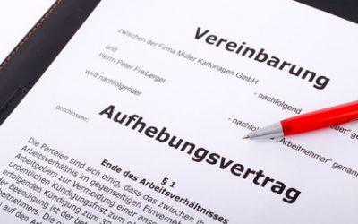"BAG prägt ""Gebot fairen Verhandelns"" bei Aufhebungsverträgen"