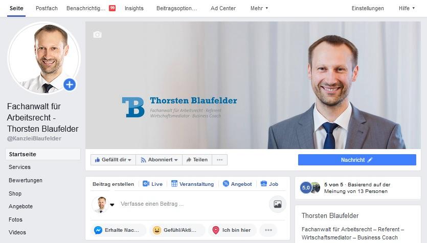 Kanzlei Blaufelder Facebook Sulz Horb Freudenstadt Oberndorf