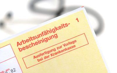 Zweifel an passgenauer Krankschreibung während Kündigungsfrist