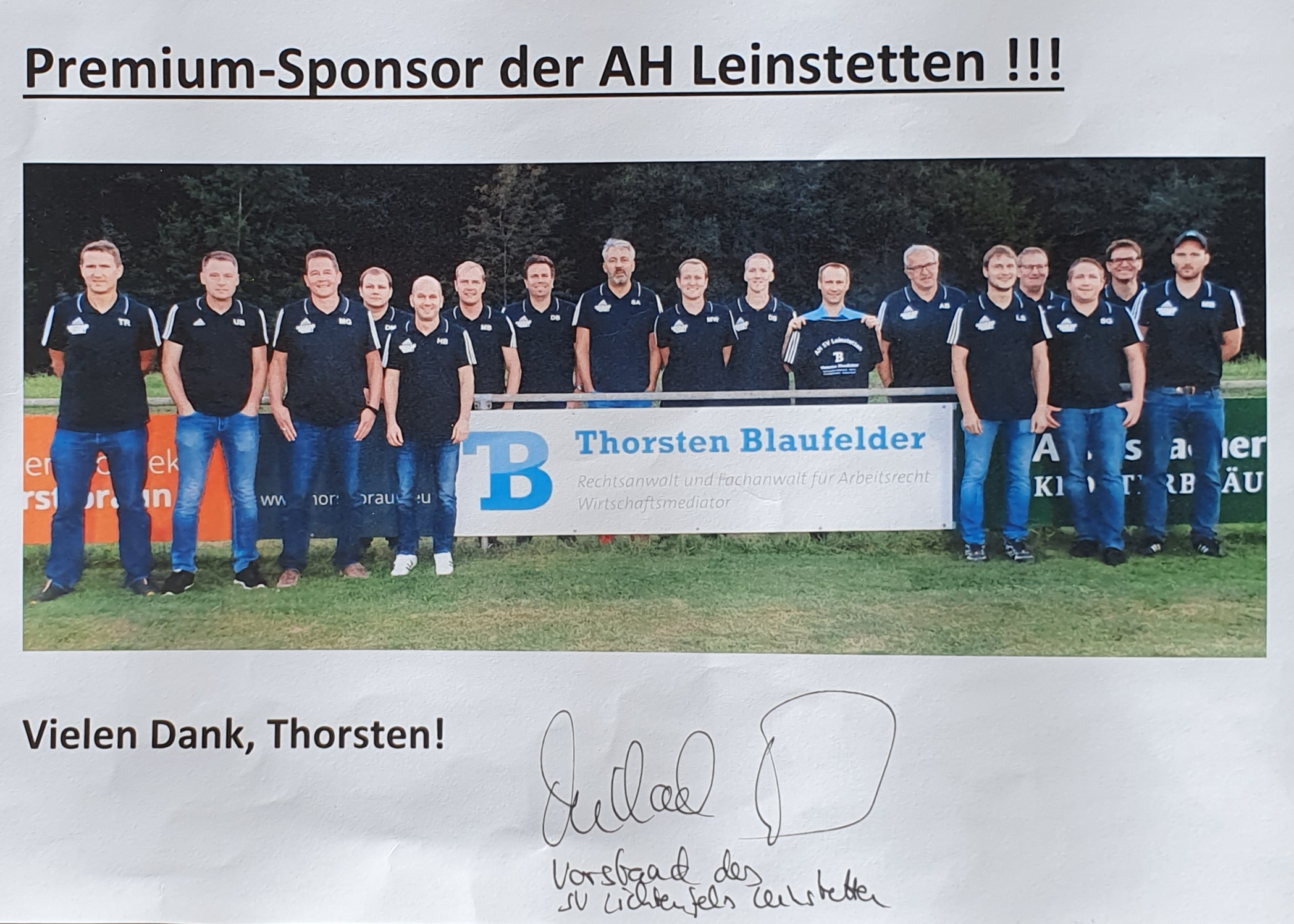 Premium Sponsor Leinstetten Dornhan Arbeitsrecht